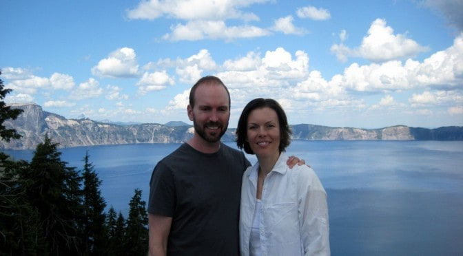 A Stop at Crater Lake on Our Way Home