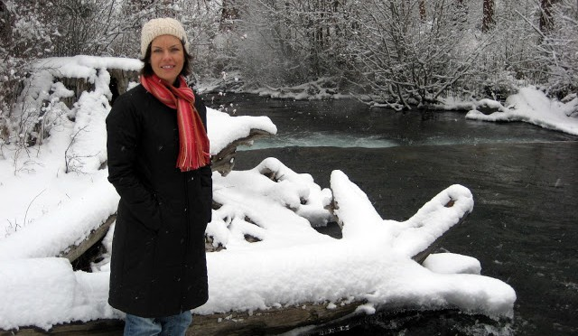 Marissa's 40th and Snow!