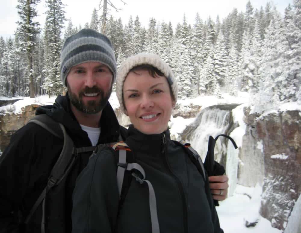XC Skiing & Frozen Paulina Creek Falls